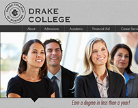 Drake College Homepage Redesign