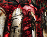 Cathedral of roses.