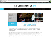 Eastern Illinois University Department Pages Redesign