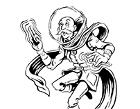 Inktober Spacemen