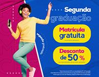 Campanha Segunda graduação CESMAC
