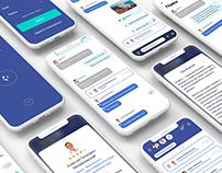 Doctis App design and development