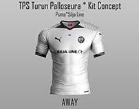 TPS Turun Palloseura Kit Concept