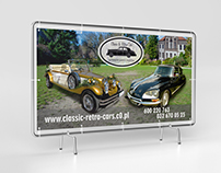 Banner design for Wedding Cars Tenant Classic & Retro