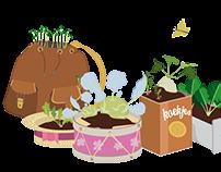 Julia from edible garden (Dutch language version)
