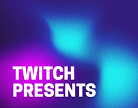 Twitch Presents Branding