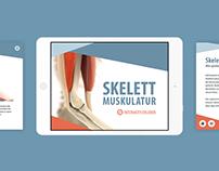Interactive ebook app