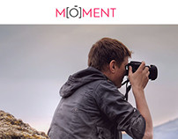 MOMENT Company Homepage