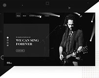 Music home page redesign