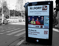 REPORT TV (City Light Campaign)