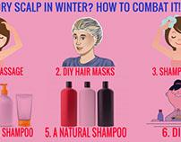 Dry Scalp in Winter? How to Combat it!