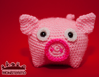 Monsterito | Piglet (Cuby collection)