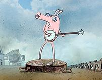 BANJO PIG work in progress