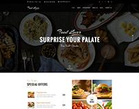Food LoverRestaurant PSD Template