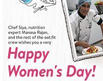 Women's Day emailer