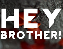 Hey Brother! free font