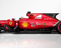 2018 Scuderia Ferrari F1 Concept Liveries