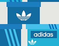 Adidas Originals shoebox concept