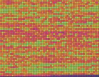 Visualising songs using colour