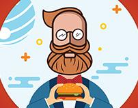 Planet Burger   Social Media Posts