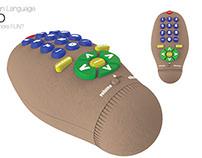COUCH POTATO tv remote control