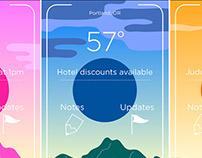 Travel App skins