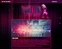 Valium Nightclub Website