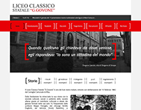 "Redesign ""Liceo Classico G. Govone"" Website"