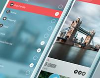 Kamino iPhone App. 2014
