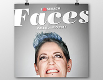 SEBACH FACES - Calendar 2015