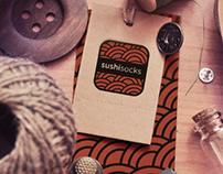 Sushi Socks Branding