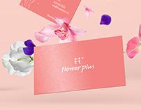 FlowerPlus 花+ Branding