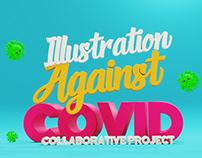 Illustration against COVID