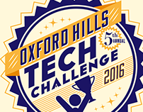 OX HILLS TECH CHALLENGE COMPETITION BRANDING