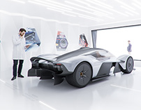 ASTON MARTIN VALKYRIE SHOWCASE