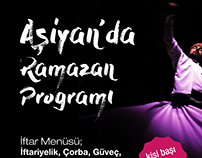 Asiyan's Ramadan Campaing. Billboard and Poster Design