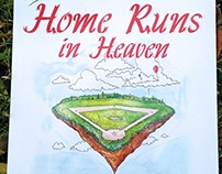 Home Runs in Heaven Children's Book Illustrations