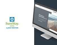 SureStay Santa Monica - Website Design