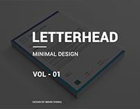 letterhead vol - 01