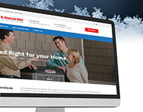 M. Wladczyk HVAC Heating & Cooling - UX/UI Design