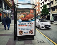 Seafood Restaurant Poster Template