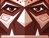 African mask - Character Design