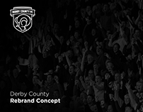 Derby County Rebrand Concept // Football Project