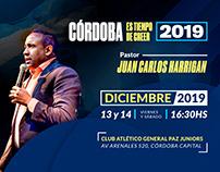Córdoba es Tiempo de Creer - Church Event Design