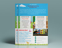 HeadSmart preschool flyer design by StartTall Branding