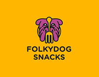 Folkydog Snacks Company Branding Project
