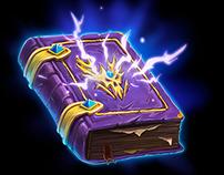 Fantasy game UI icons.