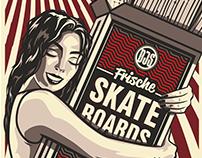 "Boardjunkies Skateboard ""Hug"""