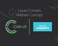 Liquid Concepts | Website Concept