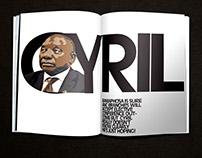 Editorial illustration, layout, Cyril 17